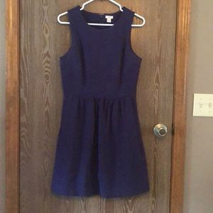 J. Crew Purple Knit Dress, Size S